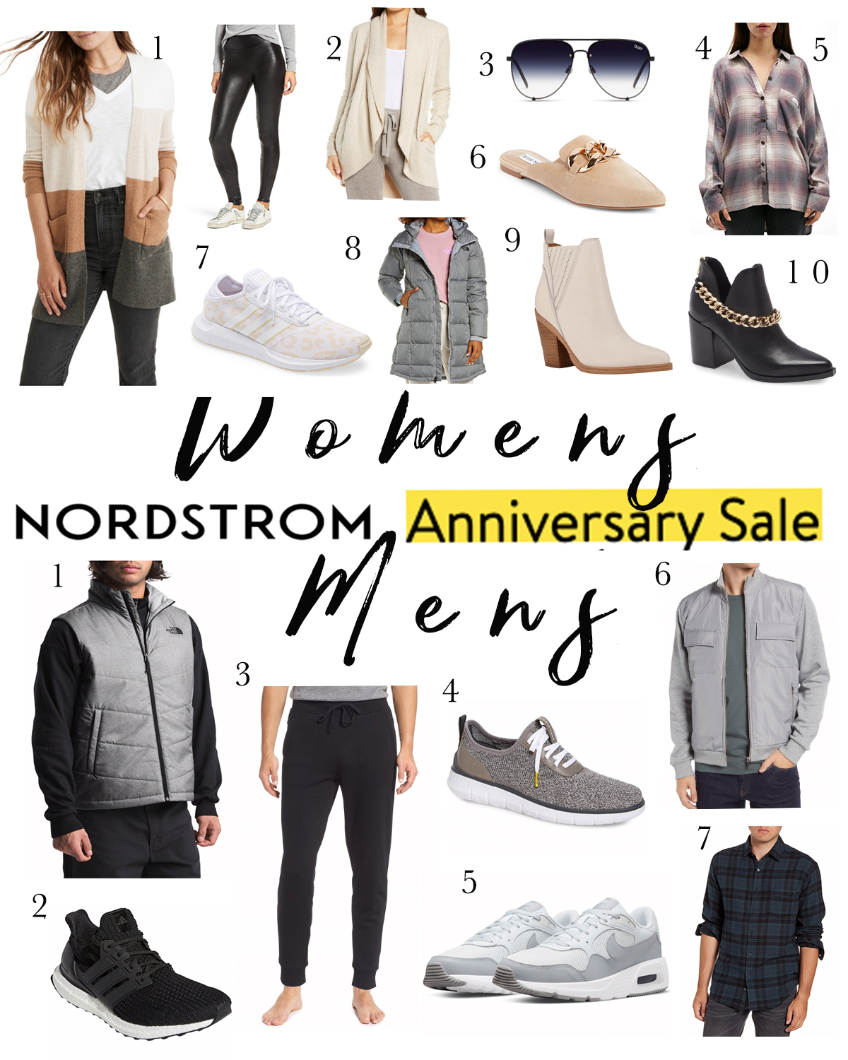 Nordstrom Anniversary Sale 2021 Women's and Men's Guides